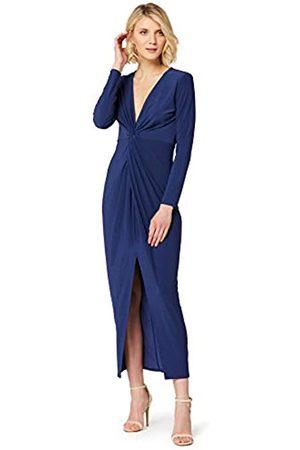 TRUTH & FABLE Amazon-Marke: Damen Kleid mit tiefem V-Ausschnitt, 40
