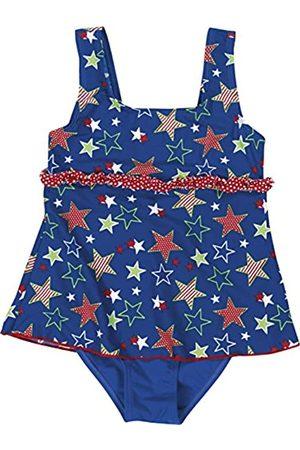 Playshoes Mädchen UV-Schutz Badeanzug mit Rock Sterne Einteiler