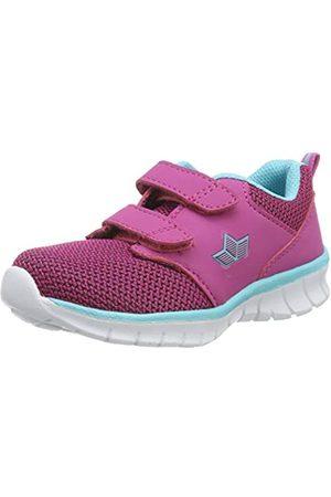 LICO Mädchen Nolan V Sneaker, Pink (Pink/Türkis Pink/Türkis)
