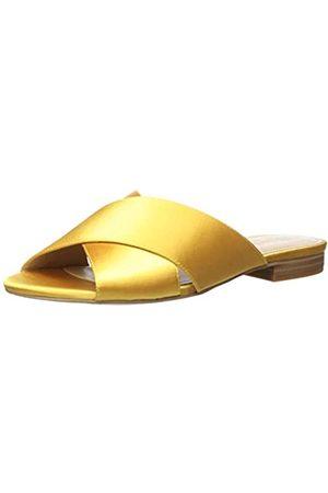 The Drop Bristol Flache Sandale, überkreuzte Riemen