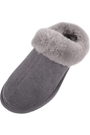 Snugrugs Damen Harriet Pantoffeln, (Grey Grey)