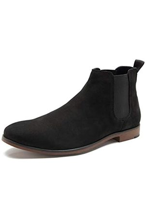 Red Tape Herren Braxted Chelsea Boots, (Black 0)