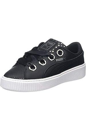 Puma Damen Platform Kiss Ath Lux Sneaker, Black Black 02