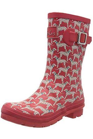 Tom Joule Damen Molly Welly Gummistiefel, (Red Dalmatian Red Dog)