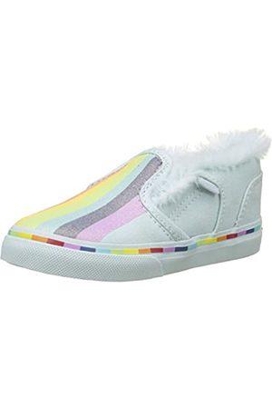 Vans Baby Asher V Toddler Unisex Sneaker, Mehrfarbig ((Cloud) Rainbow U3p)