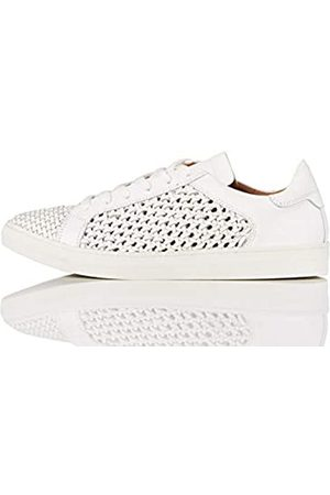 FIND Weave Leather Sneaker White)