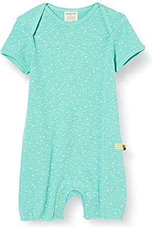 loud + proud Baby-Mädchen Short Romper Waffle Knit Organic Cotton Strampler