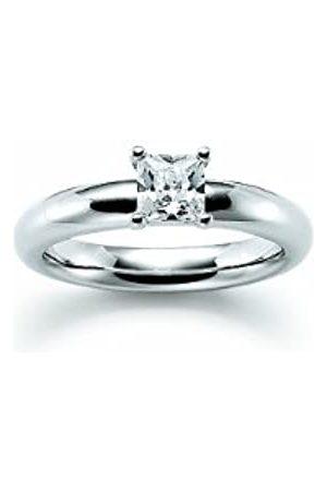 Viventy Damen-Ring Choose Me 925 Sterling 1 Zirkonia Weiß Gr. 54 (17.2) 765031