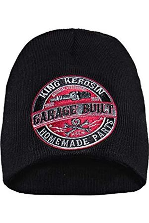 King kerosin Herren Strickmütze Garage Built Patch Garage Built