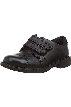 Clarks Jungen Scala Skye T Slipper, (Black Leather Black Leather)