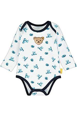 Steiff Baby-Jungen mit Teddybärprint Formender Body