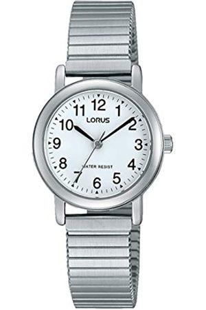 Lorus Damen Uhren - Klassik Damen-Uhr mit Palladiumauflage und Metallband RRS81VX9