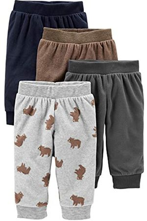 Simple Joys by Carter's Baby Jungen Fleece-Hosen, 4er-Pack