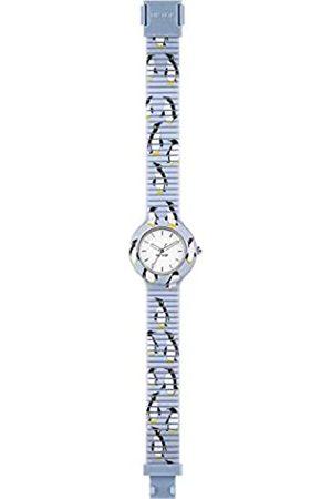 Hip Damen Uhren - Armbanduhr Frau Animals Addicted quadrante Weiss e uhrarmband in silikon