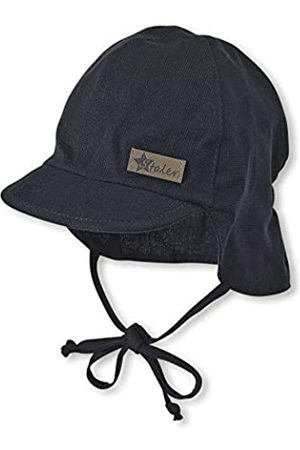 Sterntaler Baby-Jungen Schirmmütze Bindebändern und Nackenschutz Mütze