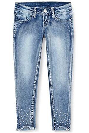 MEK Mädchen Stretch Con Appl. Jeans