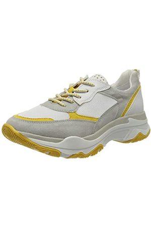 Marco Tozzi Damen 2-2-23746-34 Sneaker, Mehrfarbig (Grey/Saffron 214)