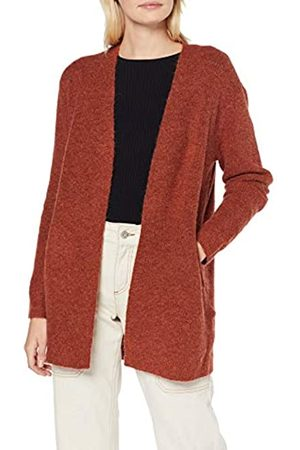 Pieces Damen Pcella Ls Wool Knit Cardigan Strickjacke