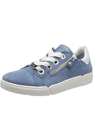 ARA Damen ROM Sneaker, (Sky, Weiss 11)