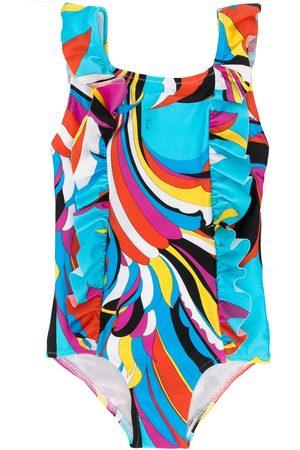 Emilio Pucci Badeanzug mit abstraktem Print