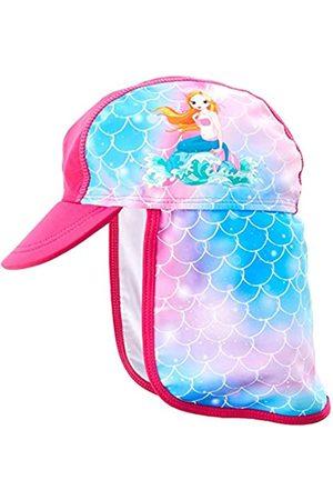 Playshoes Mädchen UV-Schutz Bademütze Meerjungfrau Sonnenhut