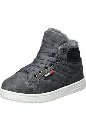 KangaROOS Unisex-Kinder Vuka Hohe Sneaker, (Steel Grey)