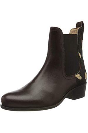 Tom Joule Damen Stamford Chelsea Boots, (Chocolate Leopard Chocleoprd)