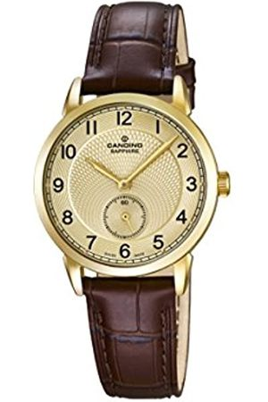 Candino Damen Uhren - Damen Analog Quarz Uhr mit Leder Armband C4594/3