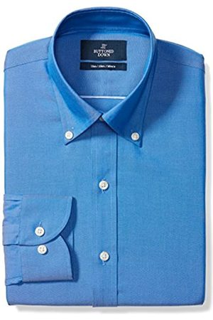 Buttoned Down Slim Fit Solid Pocket Options Smoking Hemd, french blue