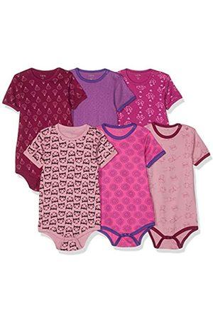CARE LABEL Amazon Exclusive: Baby - Mädchen Kurzarm-Body 3er und 6er Pack Pink (Light Rose 550)