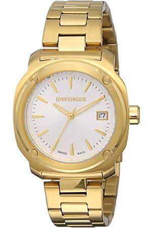 WENGER Unisex-Armbanduhr Analog Quarz Edelstahl EDGE INDEX NO:01.1121.107