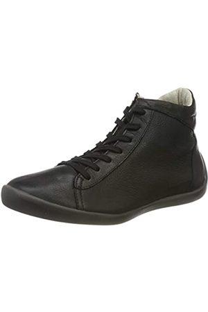 softinos Damen NEYA556SOF Hohe Sneaker, (Black 000)