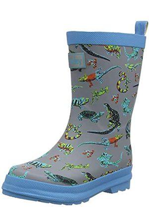 Hatley Jungen Printed Wellington Rain Boots Gummistiefel, (Rambunctious Reptile 020)