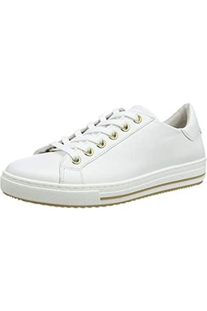 Gabor Shoes Damen Comfort Basic Sneaker, (Weis( /Blurossohonig) 50)