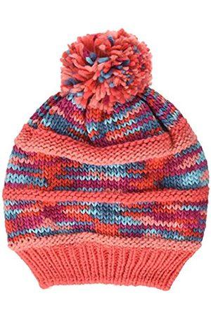 Color Kids Mädchen Strickmütze mit Fleecefutter undZweig Mütze