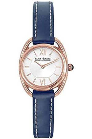 Saint Honore Damen Uhren - SaintHonoréDamenAnalogQuarzUhrmitLederArmband7210268AIR-BLU