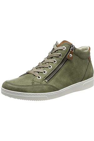 Jenny Seattle 2254752 Damen Hohe Sneaker, (Salvia, Nuss 10)