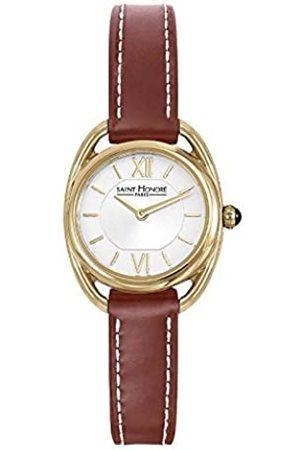 Saint Honore Damen Uhren - SaintHonoréDamenAnalogQuarzUhrmitLederArmband7210263AIT-BR