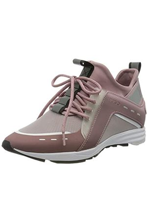 HUGO BOSS Damen Hybrid_Runn_Fd Hohe Sneaker, Pink (Light/Pastel Pink 682)