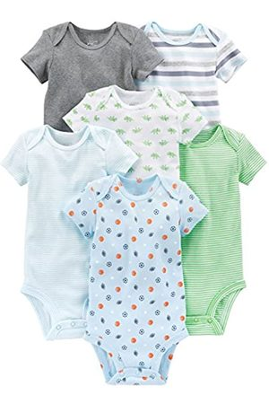 Simple Joys by Carter's Baby Jungen Strampler kurzärmlig 6er Pack