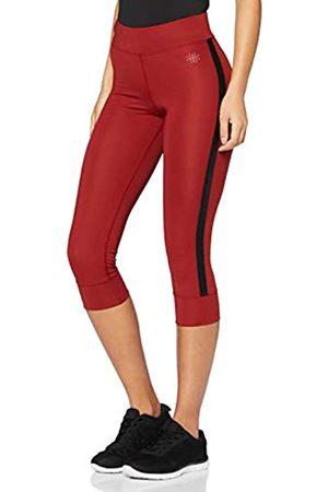 AURIQUE Amazon-Marke: Damen Sport Leggings Side Stripe Cropped, 40