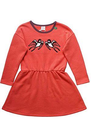 Green Cotton Baby-Mädchen Bird Sweat Dress Kleid