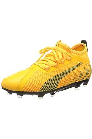 Puma Unisex-Kinder One 20.2 Fg/ag Jr Fußballschuhe, (Ultra Yellow Black- Alert 01)