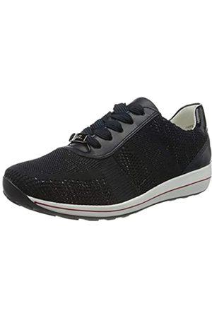 ARA Damen OSAKA Sneaker, Metallic, /Navy 06)