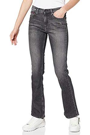 Tommy Hilfiger Damen Maddie Mr Bootcut Zbkc Straight Jeans