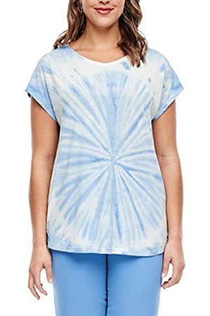 s.Oliver Damen T-Shirt in Batik-Optik 54