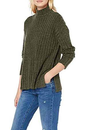 Pieces Damen Pcnew Sanni Ls Wool Knit Noos Pullover