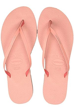 Havaianas Damen You Rainbow Pop Zehentrenner, Pink (Silk Rose 0082)
