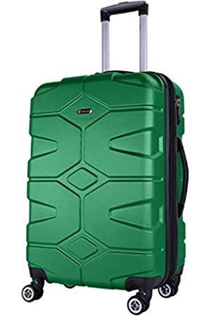Shaik SERIE RAZZER SH002 DESIGN PMI Hartschalen Kofferset, Trolley, Koffer, Reisekoffer, 4 Doppelrollen, 25% mehr Volumen durch Dehnfalte (