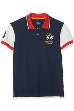 La Martina Herren Man Polo S/s Piquet Stretch Poloshirt